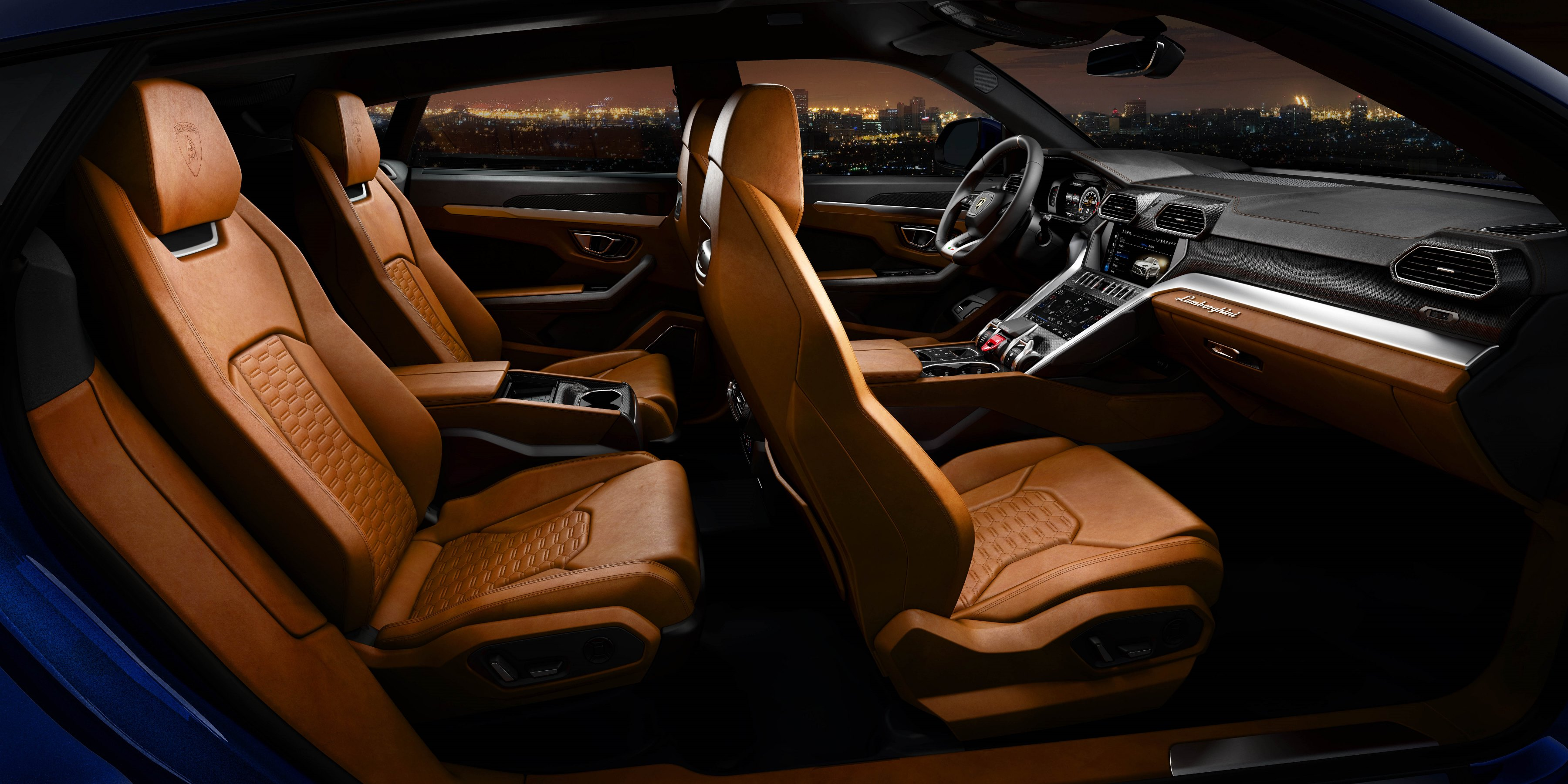 Lamborghini URUS SUV Interior Side view , Buzz Uploads