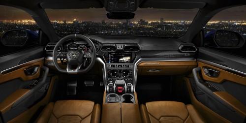 Lamborghini URUS SUV Brown Interior