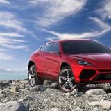 Lamborghini-URUS-SUV-Rocky-Lake-Scenery