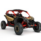 Maverick-X3-X-rs-TURBO-R-Gold-and-Can-Am-Red-front