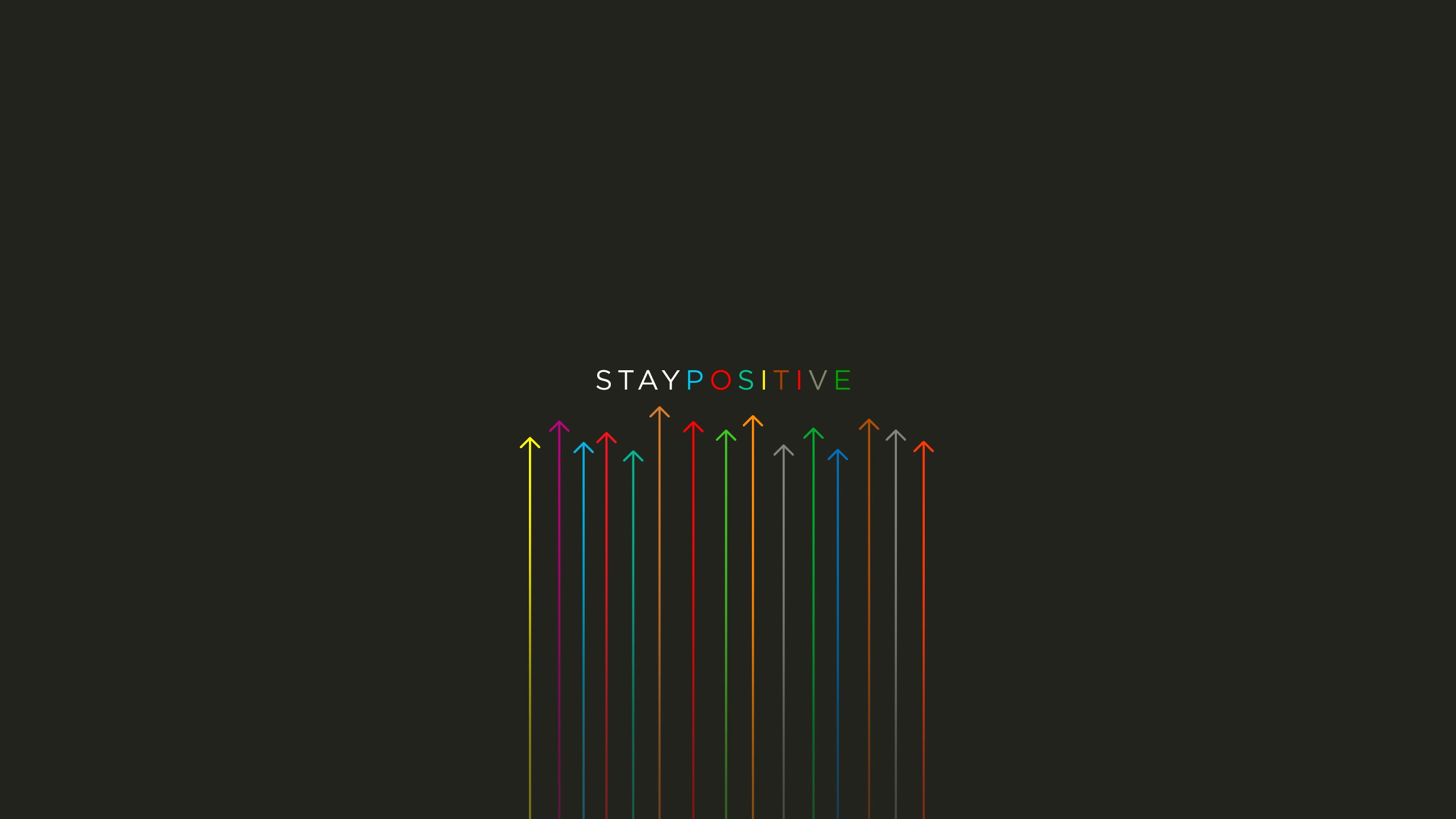 Stay Positive Quote Hd Wallpaper Quotes Buzz Uploads