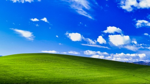 Original Windows XP Wallpaper in 4K - 3840x2160