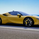 Ferrari-SF90-Stradale---Custom-Yellow-Exterior---Italian-Coastal-Road-33