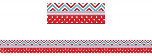 Teacher-School-Classroom-Red--Blue-Chevrons--Dots-Straight-Border-Trim-12pc.jpg